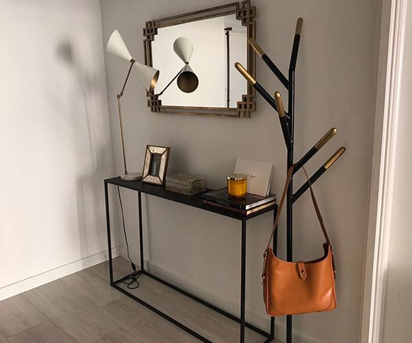 entrada hogar muebles diseño