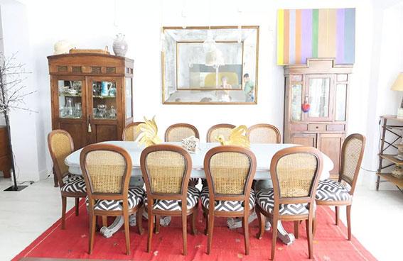 mesa casa alegria interiorismo