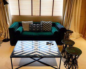mesa espigas muebles diseño
