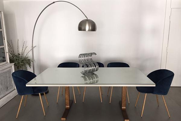 mesa luminosa muebles diseño