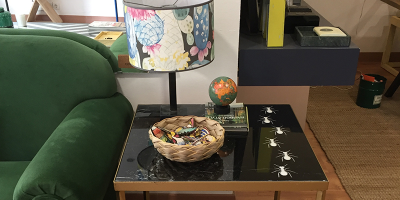 mesa escarabajo muebles diseño