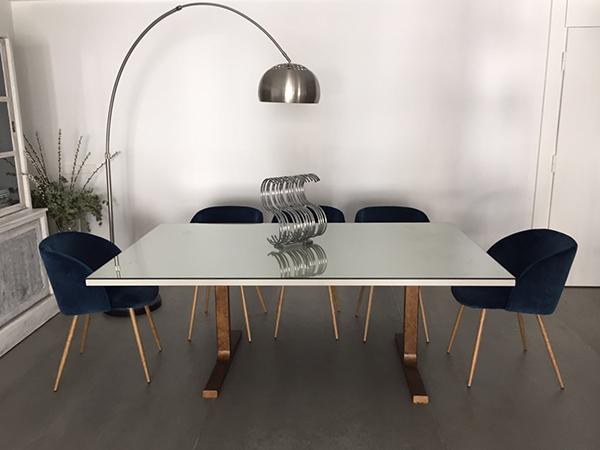 mesa metalica muebles diseño