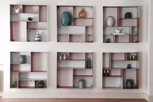 El valor de las estanter as en el interiorismo muebles de dise o - Estanterias diseno pared ...